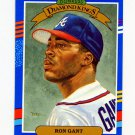 1991 Donruss Baseball #010 Ron Gant DK - Atlanta Braves
