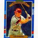1991 Donruss Baseball #007 Len Dykstra DK - Philadelphia Phillies