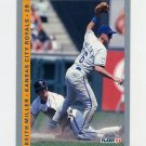 1993 Fleer Baseball #244 Keith Miller - Kansas City Royals