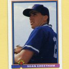 1991 Bowman Baseball #414 Sean Cheetham RC - Chicago Cubs