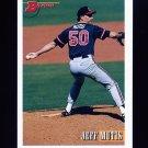 1993 Bowman Baseball #586 Jeff Mutis - Cleveland Indians