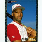 1993 Bowman Baseball #349 Willie Greene FOIL - Cincinnati Reds