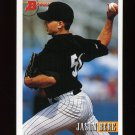 1993 Bowman Baseball #091 Jason Bere - Chicago White Sox