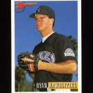 1993 Bowman Baseball #064 Ryan Hawblitzel - Colorado Rockies