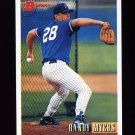 1993 Bowman Baseball #032 Randy Myers - Chicago Cubs