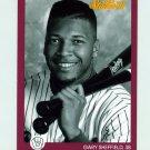 1991 Studio Baseball #076 Gary Sheffield - Milwaukee Brewers