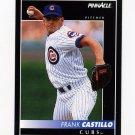 1992 Pinnacle Baseball #504 Frank Castillo - Chicago Cubs