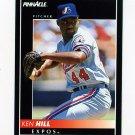 1992 Pinnacle Baseball #486 Ken Hill - Montreal Expos