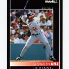 1992 Pinnacle Baseball #420 Glenallen Hill - Cleveland Indians