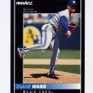 1992 Pinnacle Baseball #385 Duane Ward - Toronto Blue Jays