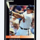 1992 Pinnacle Baseball #362 Joe Orsulak - Baltimore Orioles