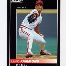 1992 Pinnacle Baseball #335 Chris Hammond - Cincinnati Reds
