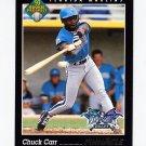 1993 Pinnacle Baseball #618 Chuck Carr - Florida Marlins