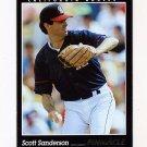1993 Pinnacle Baseball #574 Scott Sanderson - California Angels