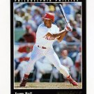 1993 Pinnacle Baseball #566 Juan Bell - Philadelphia Phillies