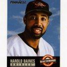1993 Pinnacle Baseball #488 Harold Baines HH - Baltimore Orioles