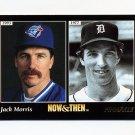 1993 Pinnacle Baseball #472 Jack Morris NT - Toronto Blue Jays