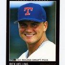 1993 Pinnacle Baseball #459 Rick Helling - Texas Rangers