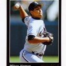 1993 Pinnacle Baseball #441 Wilson Alvarez - Chicago White Sox