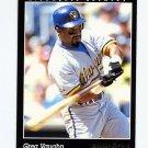 1993 Pinnacle Baseball #318 Greg Vaughn - Milwaukee Brewers