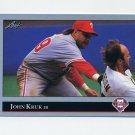 1992 Leaf Baseball #313 John Kruk - Philadelphia Phillies