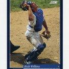 1994 Score Baseball #450 Rick Wilkins - Chicago Cubs