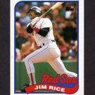 1989 Topps Baseball #245 Jim Rice - Boston Red Sox