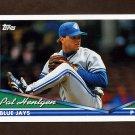 1994 Topps Baseball #304 Pat Hentgen - Toronto Blue Jays