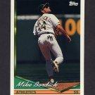 1994 Topps Baseball #188 Mike Bordick - Oakland A's