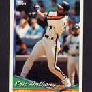 1994 Topps Baseball #182 Eric Anthony - Houston Astros