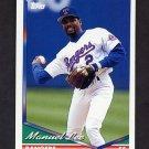 1994 Topps Baseball #051 Manuel Lee - Texas Rangers