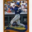 2002 Topps Baseball #466 Jose Hernandez - Milwaukee Brewers