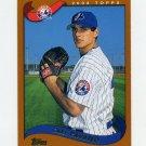 2002 Topps Baseball #407 Carl Pavano - Montreal Expos