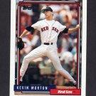 1992 Topps Baseball #724 Kevin Morton - Boston Red Sox
