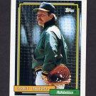1992 Topps Baseball #495 Carney Lansford - Oakland A's