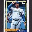 1992 Topps Baseball #352 Ed Nunez - Milwaukee Brewers