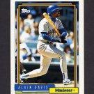 1992 Topps Baseball #130 Alvin Davis - Seattle Mariners