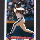 1993 Topps Baseball #666 Glenallen Hill - Cleveland Indians