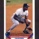 1993 Topps Baseball #549 Hensley Meulens - New York Yankees