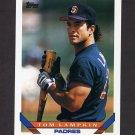 1993 Topps Baseball #492 Tom Lampkin - San Diego Padres