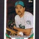 1993 Topps Baseball #439 Bryan Harvey - Florida Marlins