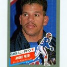 1991 Fleer Football All-Pros #01 Andre Reed UER - Buffalo Bills NM-M