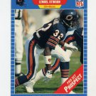 1989 Pro Set Football #542 Lemuel Stinson RC - Chicago Bears