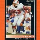 1992 Pinnacle Football #184 Keith McCants - Tampa Bay Buccaneers