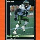 1992 Pinnacle Football #175 James Hasty - New York Jets ExMt