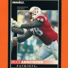 1992 Pinnacle Football #052 Bruce Armstrong - New England Patriots