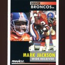 1991 Pinnacle Football #181 Mark Jackson - Denver Broncos
