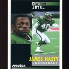 1991 Pinnacle Football #162 James Hasty - New York Jets