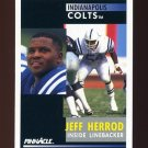 1991 Pinnacle Football #041 Jeff Herrod - Indianapolis Colts