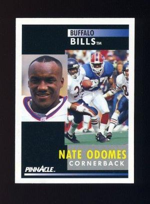 1991 Pinnacle Football #022 Nate Odomes - Buffalo Bills